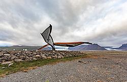 THEMENBILD - Metal Stahlträger von der Gigjukvisl Brücke bei Skeidararsandur, aufgenommen am 09. Juni 2019 in Island // Metal steel girder from the Gigjukvisl bridge at Skeidararsandur, Iceland on 2019/06/09. EXPA Pictures © 2019, PhotoCredit: EXPA/ Peter Rinderer