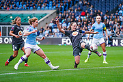 Birmingham City Women defender Kerys Harrop (6) clears during the FA Women's Super League match between Manchester City Women and BIrmingham City Women at the Sport City Academy Stadium, Manchester, United Kingdom on 12 October 2019.