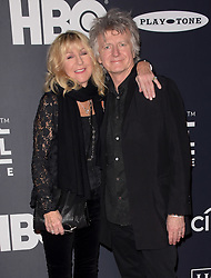March 30, 2019 - Brooklyn, New York, USA - NEW YORK, NEW YORK - MARCH 29: Christine McVie and Neil Finn of Fleetwood Mac attends the 2019 Rock & Roll Hall Of Fame Induction Ceremony at Barclays Center on March 29, 2019 in New York City. Photo: imageSPACE (Credit Image: © Imagespace via ZUMA Wire)