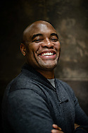 LONDON, ENGLAND, SEPTEMBER 14, 2013: A portrait of mixed martial arts athlete Anderson Silva © Martin McNeil