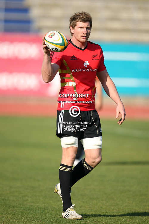 PORT ELIZABETH, SOUTH AFRICA - AUGUST 18, Adam Thomson during the New Zealand national rugby team training session at Xerox Arena on August 18, 2011 in Port Elizabeth, South Africa<br /> Photo by Steve Haag / Gallo Images