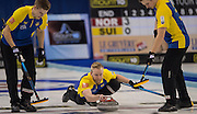 "Glasgow. SCOTLAND.  ""Semi Final"" Game. Le Gruyère European Curling Championships. 2016 Venue, Braehead  Scotland<br /> Thursday  24/11/2016<br /> <br /> [Mandatory Credit; Peter Spurrier/Intersport-images]"
