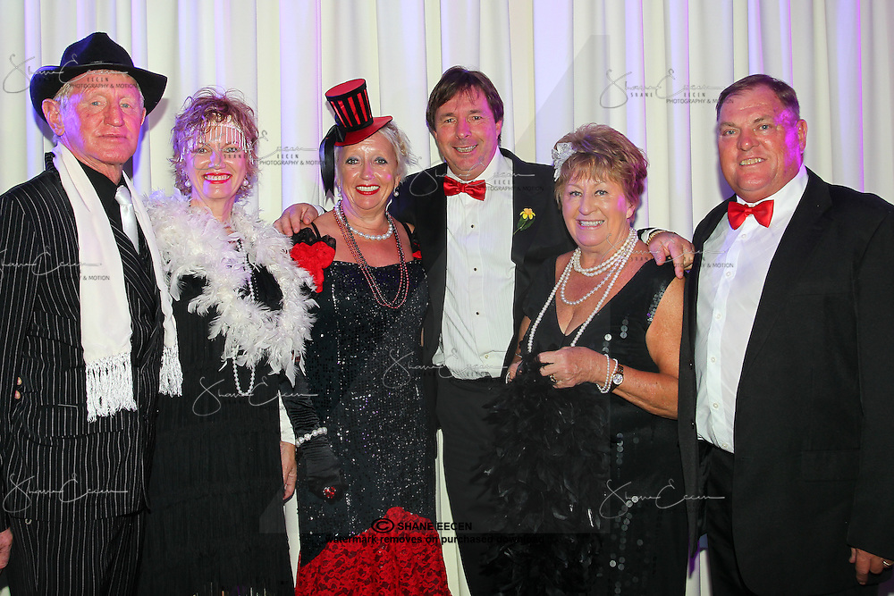 Bluey & Julie Mills, Susan & John North from Sydney & Marylin & Gordon Harvey . Cancer Council Ball 2011. Photo Shane Eecen