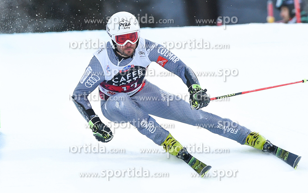 17.12.2017, Grand Risa, La Villa, ITA, FIS Weltcup Ski Alpin, Alta Badia, Riesenslalom, Herren, 1. Lauf, im Bild Thomas Fanara (FRA) // Thomas Fanara of France in action during his 1st run of men's Giant Slalom of FIS ski alpine world cup at the Grand Risa in La Villa, Italy on 2017/12/17. EXPA Pictures © 2017, PhotoCredit: EXPA/ Erich Spiess