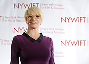 Ellen Barkin is honored at the 2013 Muse Awards presented by New York Women in Film & Television, Thursday, Dec. 12, 2013, in New York, which also honored actors Connie Britton, Robin Wright, Sonia Manzano and Frances Berwick, President of Bravo and Oxygen Media.   (Photo by Diane Bondareff/Invision for New York Women in Film & Television/AP Images)