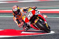 Dani Pedrosa of Spain and Repsol Honda Team  rides during free practice for the MotoGP of Catalunya at Circuit de Catalunya on June 10, 2017 in Montmelo, Spain.(ALTERPHOTOS/Rodrigo Jimenez)