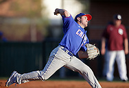 March 9, 2017: The Lubbock Christian University Chaparrals play against the Oklahoma Christian University Eagles at Dobson Field on the campus of Oklahoma Christian University.
