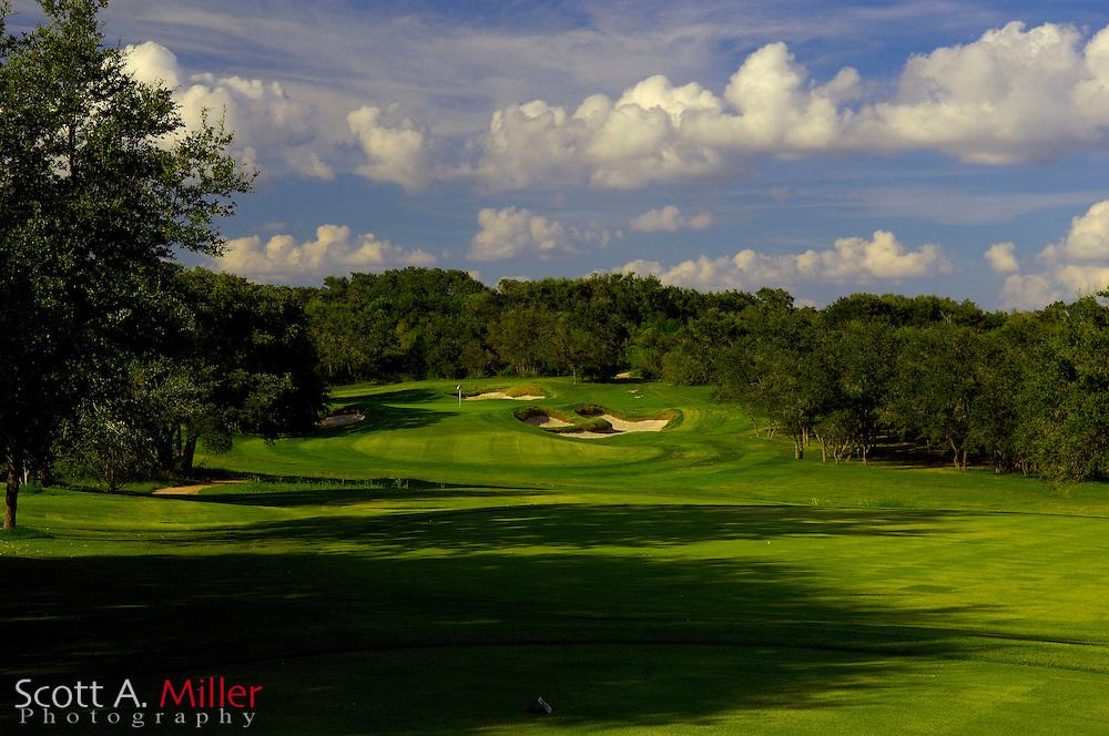 September 7, 2007, San Antonio, Texas; Hole No. 17 at the Briggs Ranch Golf CLub...                ©2007 Scott A. Miller