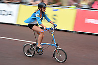 LONDON UK 30TH JULY 2016:  The Mall. The Brompton World Championship. Prudential RideLondon in London 30th July 2016<br /> <br /> Photo: Jon Buckle/Silverhub for Prudential RideLondon<br /> <br /> Prudential RideLondon is the world's greatest festival of cycling, involving 95,000+ cyclists – from Olympic champions to a free family fun ride - riding in events over closed roads in London and Surrey over the weekend of 29th to 31st July 2016. <br /> <br /> See www.PrudentialRideLondon.co.uk for more.<br /> <br /> For further information: media@londonmarathonevents.co.uk