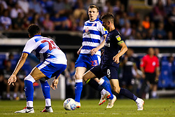 Mason Mount of Derby County takes on Tiago Ilori of Reading - Mandatory by-line: Robbie Stephenson/JMP - 03/08/2018 - FOOTBALL - Madejski Stadium - Reading, England - Reading v Derby County - Sky Bet Championship