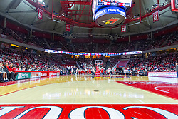 NORMAL, IL - February 16: Redbird Arena interior filled with 9011 fans during a college basketball game between the ISU Redbirds and the Bradley Braves on February 16 2019 at Redbird Arena in Normal, IL. (Photo by Alan Look)
