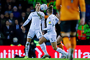 Leeds United defender Ben White (5), on loan from Brighton & Hove Albion,  during the EFL Sky Bet Championship match between Leeds United and Hull City at Elland Road, Leeds, England on 10 December 2019.