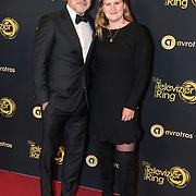 NLD/Amsterdam/20191009 - Uitreiking Gouden Televizier Ring Gala 2019, Toine van Peperstraten en dochter Katrien van Peperstraten