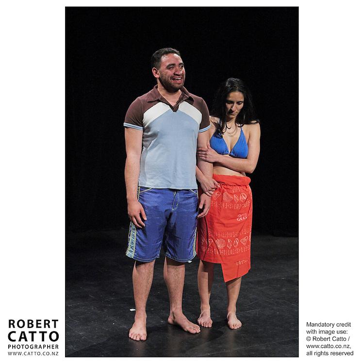 Whero's New Net, a play at the New Zealand International Arts Festival Show & Tell at the Capital E, Wellington, New Zealand.<br />