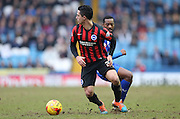 Beram Kayal, Brighton midfielder during the Sky Bet Championship match between Sheffield Wednesday and Brighton and Hove Albion at Hillsborough, Sheffield, England on 14 February 2015.