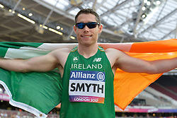 18/07/2017 : Jason Smyth (IRL), T13, Men's 200m, at the 2017 World Para Athletics Championships, Olympic Stadium, London, United Kingdom
