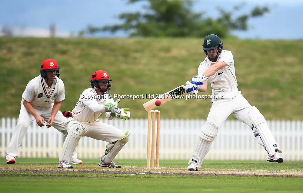 Stags player Will Young during Day 3 of their Plunket Shield match Central Stags v Canterbury. Saxton Oval, Nelson, New Zealand. Thursday 23 March 2017. ©Copyright Photo: Chris Symes / www.photosport.nz