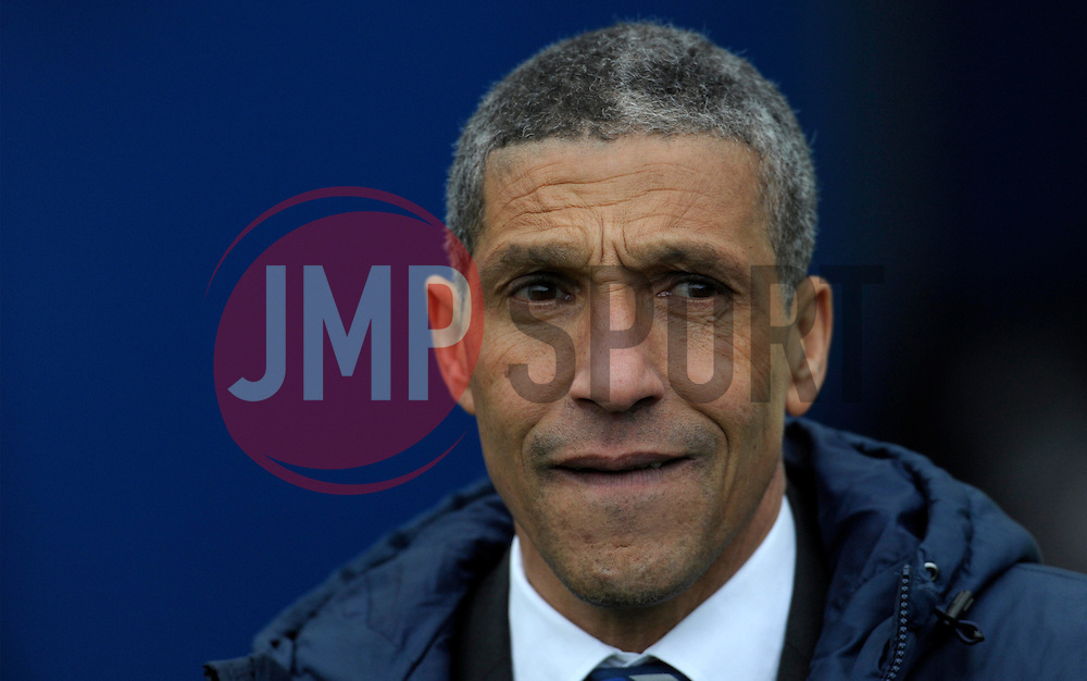 Brighton and Hove Albion Manager, Chris Hughton  - Photo mandatory by-line: Harry Trump/JMP - Mobile: 07966 386802 - 14/03/15 - SPORT - Football - Sky Bet Championship - Brighton v Wolves - Amex Stadium, Brighton, England.