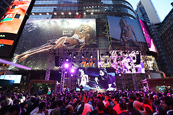 New York, NY: Fashion retailer H&amp;M hosts the &quot;Ultimate Summer Kick-off&quot; party featuring French house producer/DJ Bob Sinclar in Times Square on Friday, May 2, 2014. <br /> Sinclar teamed up with supermodel Gisele Bundchen (vocals), to produce a cover of Blondie&rsquo;s &ldquo;Heart of Glass&rdquo;, to be used to help promote the brand&rsquo;s summer campaign. Credit: Jose Martinez for H&amp;M / Handout