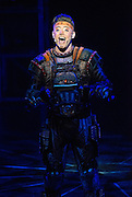 Andrew Lloyd Webber's electrifying musical-on-roller-skates, STARLIGHT EXPRESS, has its South East Asia Premiere at the Lyric Theatre, Hong Kong Academy for Performing Arts tonight.<br /> Kristofer Harding in the role of Rusty the steam train.