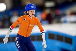 10-11-2017 NED: ISU World Cup, Heerenveen<br /> massastart vrouwen, Janneke Ensing NED