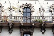 Milano, Lombardia, Italia. Stile liberty. Liberty style. Via Pisacane 16