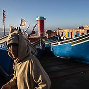 Comme Tifnit, Imsouane est un village traditionnel où les pêcheurs côtoient les vacanciers venus s'éssayer au surf