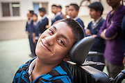 New Life school for disabled and learning challenged children in Santa Maria de Jesus, Guatemala near Antigua.