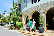 Entrance to Oyster Bay Beach Resort