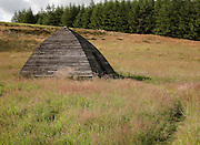 Beehive Bothy, Near Laggangarn on the Southern Upland Way, Scotland