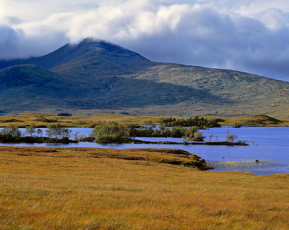 The desolation is legendary around Rannoch Moor in the Central Highlands of Scotland.