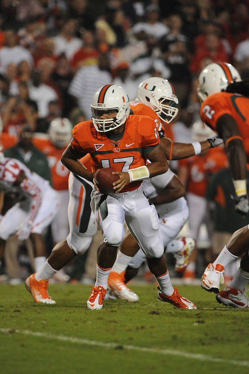 2011 Miami Hurricanes Football @ Maryland<br /> <br /> Stephen Morris