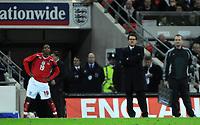Photo: Tony Oudot/Richard Lane Photography. <br /> England v Switzerland. International Friendly. 06/02/2008. <br /> England manager Fabio Capello looks to bring on Ashley Young