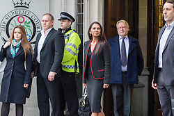 December 8, 2016 - London, London, United Kingdom - Image ©Licensed to i-Images Picture Agency. 07/12/2016. London, United Kingdom. Brexit Legal Challenge at the Supreme Court (Final Day)...Gina Miller arrives at the Supreme Court of the United Kingdom. On this the final day of the legal challenge brought about by the Government to appeal against a November the 3rd 2016 High Court ruling that Article 50 cannot be triggered unless Parliament votes for it. ..Picture by Pete Maclaine / i-Images (Credit Image: © Pete Maclaine/i-Images via ZUMA Wire)
