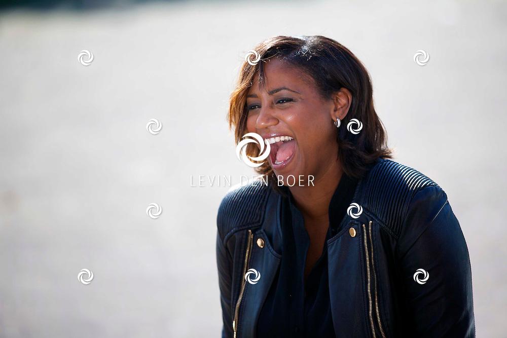 AMSTERDAM - Talkies Lifestylelunch bij The Oyster Club is een jaarlijks event. Met hier op de foto  Edsilia Rombley. FOTO LEVIN DEN BOER - PERSFOTO.NU