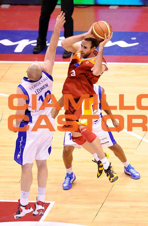 DESCRIZIONE : Milano Coppa Italia Final Eight 2013 Ottavi di Finale Pallacanestro Cantu' Acea Roma<br /> GIOCATORE : Luigi Datome<br /> CATEGORIA : tiro Tecnica<br /> SQUADRA : Acea Roma<br /> EVENTO : Beko Coppa Italia Final Eight 2013<br /> GARA : Pallacanestro Cantu' Acea Roma<br /> DATA : 07/02/2013<br /> SPORT : Pallacanestro<br /> AUTORE : Agenzia Ciamillo-Castoria/A.Giberti<br /> Galleria : Lega Basket Final Eight Coppa Italia 2013<br /> Fotonotizia : Milano Coppa Italia Final Eight 2013 Ottavi di Finale Pallacanestro Cantu' Acea Roma<br /> Predefinita :