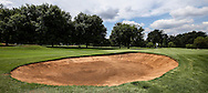View of the right side bunker on the 1st on the East Course, Royal Johannesburg & Kensington Golf Club, Gauteng, Johannesburg, South Africa.  11/01/2016. Picture: Golffile | David Lloyd<br /> <br /> All photos usage must carry mandatory copyright credit (© Golffile | David Lloyd)