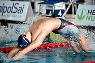 Nicotra Mario Toscana Empoli TN<br /> 50 dorso uomini <br /> Campionato Italiano Assoluto UnipolSai Primaverile di Nuoto 02/04/2019<br /> Nuoto Swimming<br /> <br /> Stadio del Nuoto di Riccione<br /> Photo © Giorgio Scala/Deepbluemedia/Insidefoto