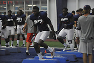 Ole Miss' Marquis Haynes (27) at football practice at the Manning Center, in Oxford, Miss. on Monday, August 18, 2014.