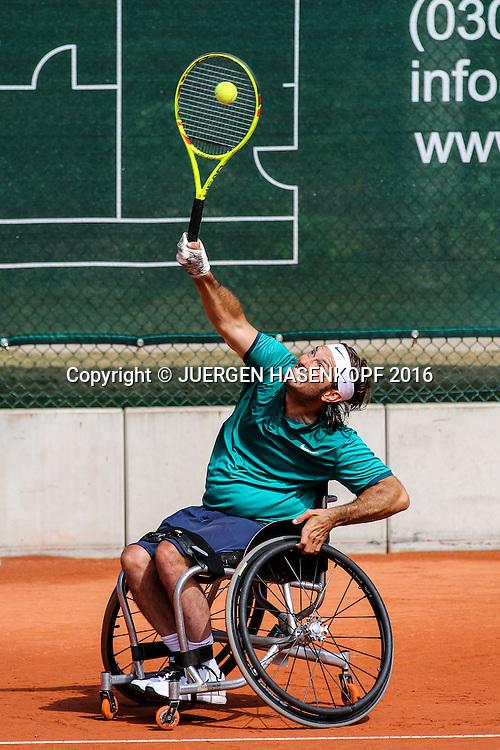 David Wagner (USA), 28. German Open - Wheelchair Tennis, BTTC Gr&uuml;n-Wei&szlig;, Berlin<br /> <br /> Tennis - 28.German Open - Wheelchair Tennis, - ITF -   BTTC Gr&uuml;n-Wei&szlig; Berlin - Berlin -  - Germany  - 24 July 2016.