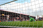 Goal - Anthony Martial (11) of Manchester United scores a goal to make the score 1-1 during the Premier League match between Bournemouth and Manchester United at the Vitality Stadium, Bournemouth, England on 3 November 2018.