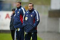 Fotball, 13. mai 2003, NM fotball herrer, Strømsgodset-Bærum,  Vidar Davidsen og Arne Dokken, Strømsgodset