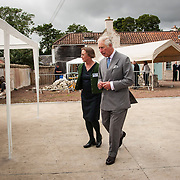 Prince of Wales, Prince Charles visits the Scottish Lime Centre Trust, Charlestown, Fife. 08 Sep 2017. Charlestown. Credit: Photo by Tina Norris. Copyright photograph by Tina Norris. Not to be archived and reproduced without prior permission and payment. Contact Tina on 07775 593 830 info@tinanorris.co.uk  <br /> www.tinanorris.co.uk