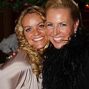 Kerstborrel Princess 2004, Inge de Bruijn en Monique Collignon