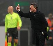 Udine, 09 gennaio 2014.<br /> Coppa Italia 2013/2014. Ottavi di Finale<br /> Stadio Friuli<br /> Udinese vs Inter.<br /> Nella Foto: Walter Mazzarri, allenatore Inter.<br /> © foto di Simone Ferraro