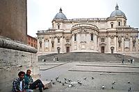 Rome - 2013 - Chiesa di Santa Maria Maggiore - Retro