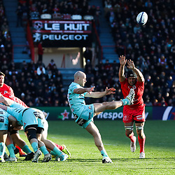 Willi HEINZ of Gloucester during the European Rugby Champions Cup, Pool 5 match between Toulouse and Gloucester on January 19, 2020 in Toulouse, France. (Photo by Manuel Blondeau/Icon Sport) - Stade Ernest-Wallon - Toulouse (France)