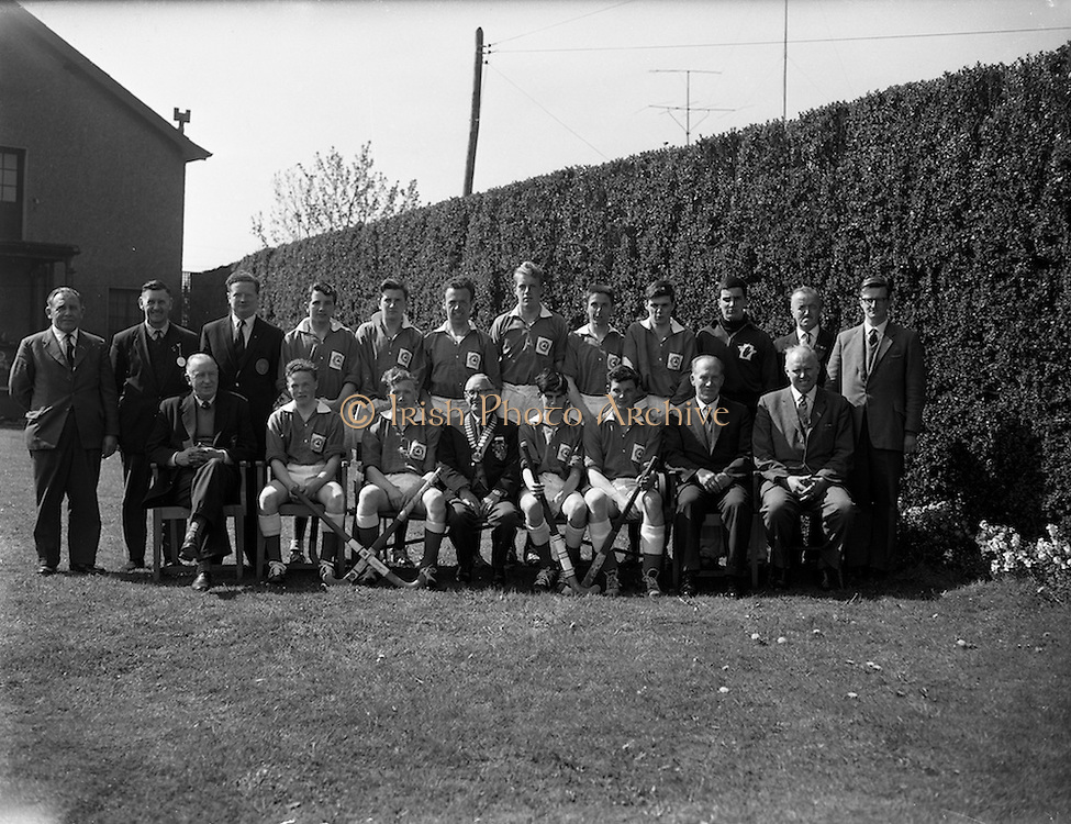 28/04/1962<br /> 04/28/1962<br /> 28 April 1962<br /> Schoolboys Hockey International Ireland v England at Londonbridge Road, Dublin. The Irish team.