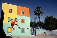 Futbol callejero en Buenos Aires