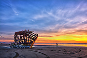 Peter Iredale Shipwreck, Fort Stevens State Park, OR.